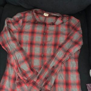 JCrew Plaid Shirt